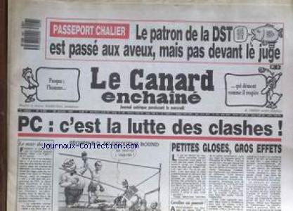 CANARD ENCHAINE (LE) [No 3457] du 28/01/...