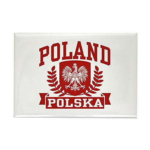 CafePress-Polen Polska-Rechteck Magnet, 5,1x 7,6cm Kühlschrank Magnet -