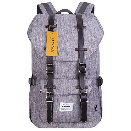 Imagen de fafada unisex  nylon causal hombres la sara  saco de viaje la bolsa de ordenador 23l gris