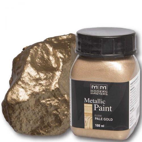 pale-gold-metallic-paint-100ml-modern-masters-metalleffektfarbe-metallfarbe