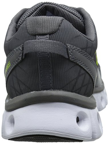 X LITE ST CMF TENNIS SHOES CHARCOAL/LIME PUNCH Black/Green