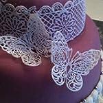Moules en silicone Motif papillon en...