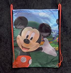 "Disney Mickey Mouse Clubhouse Sac de Piscine Rouge Enfant ""Mickey"""