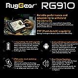 RugGear RG910 Outdoor Tablet - Wasserdichtes, Staubdichtes, Stoßfestes Rugged Tablet, 8'' Corning-Gorilla Display, 32GB, Handgurt