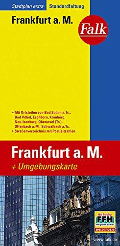 Falk Stadtplan Extra Standardfaltung Frankfurt a. M. / Offenbach