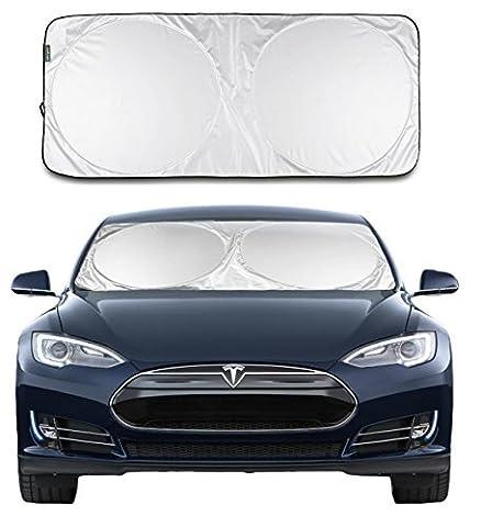 Lebogner Sonnenschutz für Windschutzscheibe, leistungsfähiger UV-Strahlenabweiser, schützt Autositze vor der Sonne und hält das Fahrzeug kühl