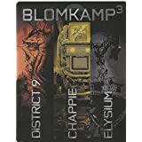 Chappie / District 9 / Elysium - Blomkamp 3 Box - Limited Edition Steelbook