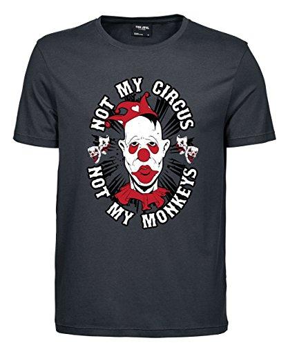 makato Herren T-Shirt Luxury Tee Not Mine Dark Grey