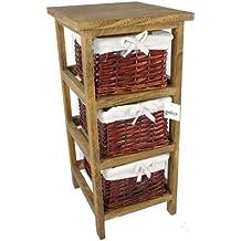 geko x x cm layburn cajones de madera mueble con cajones de