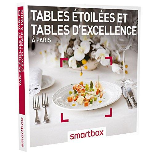 SMARTBOX - Tables étoilées et tables d'excellence à Paris - Coffret cadeau...