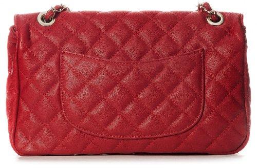Big Handbag Shop, Borsa a secchiello donna One Rosa (Pale Pink)