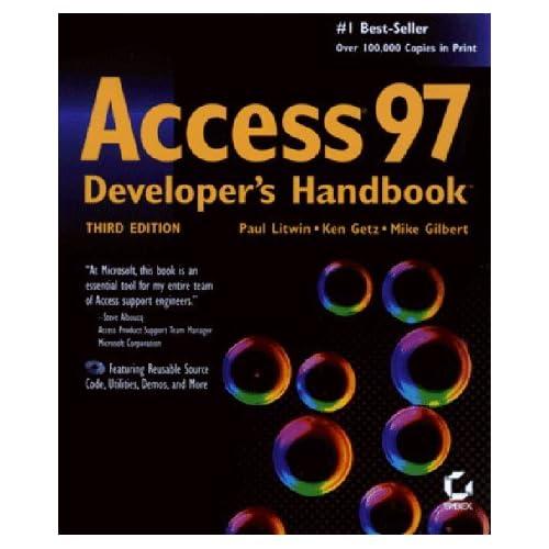 Access 97 Developer's Handbook (Sybex) by P Litwin (1-Jan-1997) Paperback