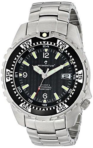 Momentum Men's 1M-DV06B00 M1 Deep 6 Analog Display Japanese Quartz Silver Watch