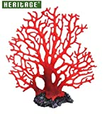 Heritage HCL025acquario Fancy marine Reef coral ornamento decorazione dipinta 22cm