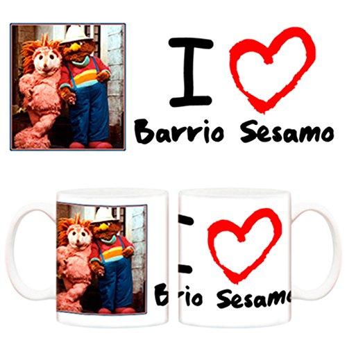 Taza Barrio Sésamo I love Barrio Sésamo Espinete