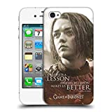 Official HBO Game of Thrones Arya Stark Character Portraits Hard Back Case for Apple iPhone 4 / 4S