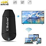 MiraScreen 2.4G WiFi Display Dongle Doppelkern HD TV Stick Unterstützung 4K Ultra HD Miracast Airplay DLNA