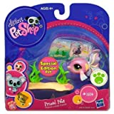 Littlest Pet Shop - Prized Pets - Special Edition - #1814 GUPPY FISH with Sea Bed accessory