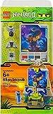 LEGO Ninjago 850455 Rattla Figur - Sonderedition Figur mit Tempel und Karte