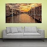 #5: Inephos Beautiful Venice Wall Painting Multiple Frames