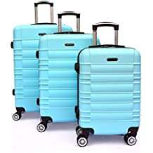 SHAIK Serie Classic Maletas De Viaje Set De 3 Piezas - Candado TSA 45/78