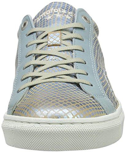 Pantofola d'Oro Paularo Donne Low, chaussons d'intérieur femme Bleu clair