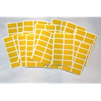 200 Stickers - Sticky Coloured Self Adhesive Labels for Colour Coding