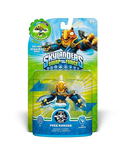 Skylanders Swap Force- Single Character - Swap Force - Free Ranger - Skylanders Figuren Ps3