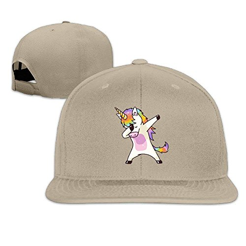 Walnut Cake Hüte,Kappen Mützen Dabbing Unicorn Unisex Fashion Snapback Hats,Adjustable Printed Hip Hop Flat Bill Baseball Cap