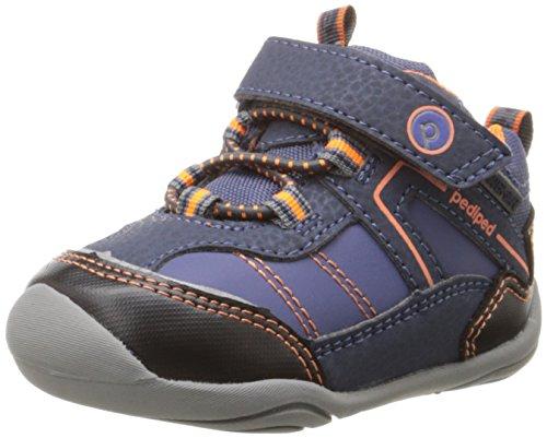 pediped  Max,  Jungen Lauflernschuhe Sneakers , blau (marineblau) , Gr.21 EU
