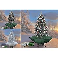 Schneiender Weihnachtsbaum.Pure Garden Living Schneiender Weihnachtsbaum 170 Cm Schneefall