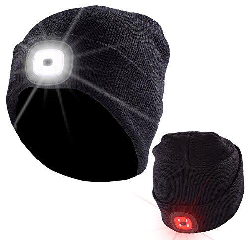 Freundschaftlich Beleuchtete Kappe Taschenlampe Baseballmütze Für Camping Jogging Jagd Kopfbedeckungen Für Herren