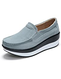 Zapatos de Mujer Zapatos Shake Spring Fall Nuevo Pastel de Muffin Gruesa Zapatos Shaking Madre de Mediana Edad...