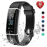 Lintelek Fitness Tracker Herzfrequenz Aktivität Tracker Farbdisplay Fitness Armband Fitness Uhr...