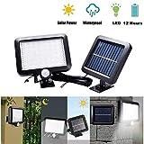 Mustbe Stromg 56LED Solar Energy Separate Induktionslampe IP65 Wasserdicht Pir Bewegungssensor Für Gartenzauntür
