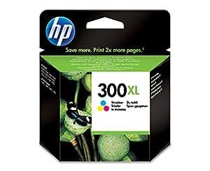 HP CC644EE#UUS - 300XL - Print cartridge - 1 x colour (cyan, magenta, yellow) - 440 pages