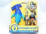 Fisher-Price Imaginext Hammerhead Shark & Pirate Shark - Pirate Adventure by Imaginext