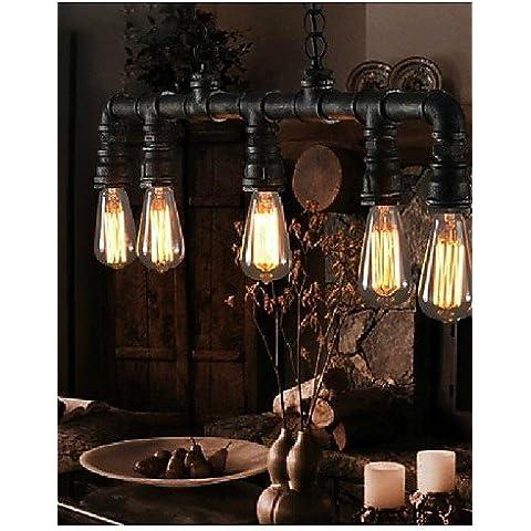 ZHY MAX 40W tradizionale/Classic / Vintage / Lanterna / Paese / Retrò stile Mini pittura pendente in metallo luci a soffitto pendente camera LightsLiving / Camera da letto / sala da pranzo