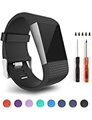 Tosenpo For Fitbit Surge,Replacement Bands Straps for Fitbit Surge Activity Tracker