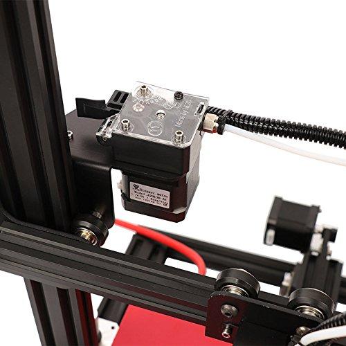 HE3D vormontierter SKY 3D Drucker mit Titantextruder AC Wärme Bett voll Aluminium große Baugröße 300 * 300 * 400mm Doppelköpfe als Geschenk - 4