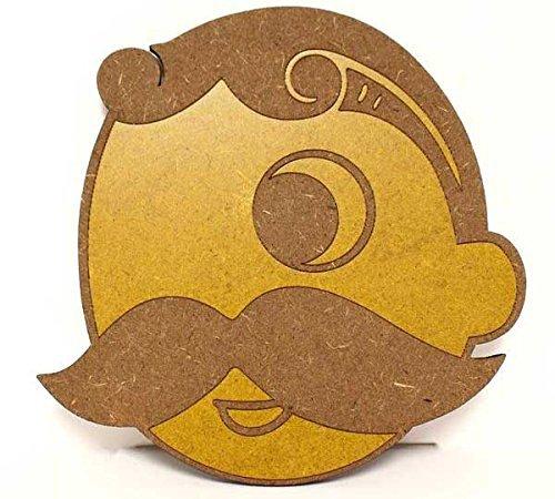 Route One Apparel | Offizielles Lizenzprodukt Natty BOH Logo Untersetzer aus Holz holzfarben