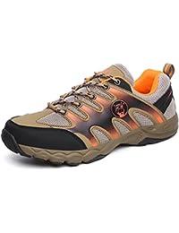 nihiug Escursioni Scarpe Uomo Impermeabile Nero Leggero Outdoor Traspirante Fitness Indossabile Running Alpinismo