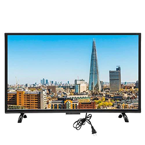 Garsent Smart TV, 32-Zoll-DVB-T HD 4K-Fernseher Intelligente Unterstützung VGA, Kopfhörer, USB, AV, HDMI, RF mit wandmontierbarem 3000R-Krümmungsfernseher, 1920 x 1200(EU)