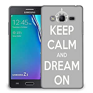 Snoogg Keep Calm and Dream on Designer Protective Back Case Cover For Samsung Galaxy Tizen T3