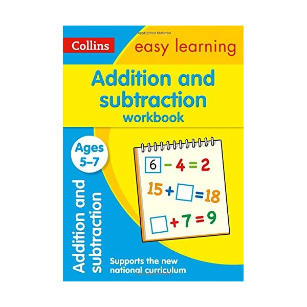 Addition and Subtraction Workbook Ages 5-7: New Edition (Collins Easy Learning KS1) 51aZ4owmBoL