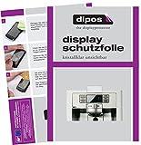 dipos I 2X Schutzfolie klar passend für Samsung RS6178UGDSREF Folie Displayschutzfolie