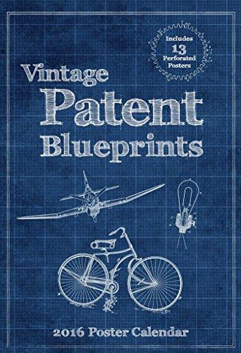 Vintage Patent Blueprints 2016 Poster Ca...