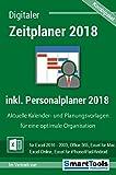 Produkt-Bild: Zeitplaner 2018 + Personalplaner 2018 für Excel 2016, 2013, 2010, 2007 und Office 365 - Kalender- und Planungsvorlagen für alle Excel-Versionen, Office 365, Excel für Mac, iOS/Android