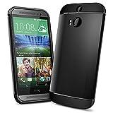 Spigen Slim Armor Coque pour HTC One M8 Noir