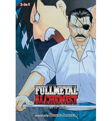 Review eBook Online [ Fullmetal Alchemist (3-In-1 Edition), Vol. 8: Includes Vols. 22, 23 & 24 Arakawa, Hiromu ( Author ) ] { Paperback } 2014 PDF